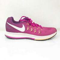 Nike Womens Air Zoom Pegasus 33 831356-602 Pink Purple Running Shoes Size 8.5
