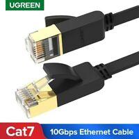 UGREEN 0.5M - 8M Ethernet Kabel Cat7 RJ45 Gigabit Lan Netzwerkkabel für Router