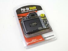 Delkin Snap-On Pop-Up Shade for Canon EOS Rebel T1i / 500D - New in Packaging!