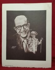 ULTRA RARE PHIL SILVERS Limited Edition Lithograph 1976 Apple Arts LTD