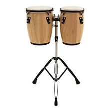Mini 9'' + 10'' Conga Set with Stand by Gear4music
