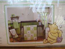NIP Disney Classic Winnie the Pooh My Friend Pooh 4-piece Crib Bedding Set