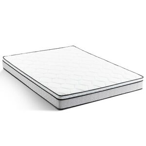 "8"" Hybrid Mattress Standard Twin XL Size Rolled Bedroom Heavy-duty Traditional"