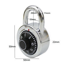 3 Dial Digital Combination ^Padlock Rotary Password Lock For Luggage Cabinet HOT