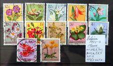BELGIAN CONGO 1952 Flowers Fine/Used (£1.25 Per Set) SEE BELOW NF436