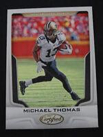 2017 Panini Certified #96 Michael Thomas New Orleans Saints Football Card