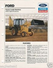 Equipment Brochure - Ford - 455C - Tractor Loader Backhoe - 1989 (E1145)