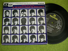 EP THE BEATLES - A hard day's night - GEP 8920 PARLOPHONE  UK MONO 2nd PRESS