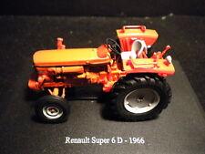 Tracteurs Hachette-RENAULT SUPER 6 D - 1966