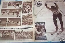 LE MIROIR DES SPORTS 1958 N 390 LE SKI FRANCAIS