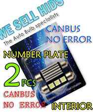Canbus Led 36mm 5050 Smd Audi A2 A3 A4 A6 A8 Q7 239 272 Número Placa inexistencia de error