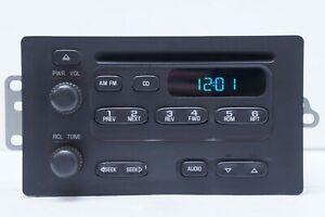 *UNLOCKED* 2003-07 Chevy Express 2500 GMC Savana Radio AM/FM CD Player 15756187
