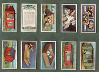 Tobacco cards set cigarette cards Chickens  Poultry Rearing & Management  1923
