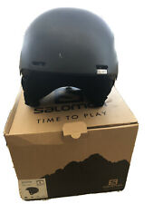 Salomon Brigade + EPS 4D Helmet - All Black Sz Large