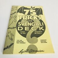 75 Tricks With A Svengali Deck by Al Stevenson 1964 booklet Free Shipping