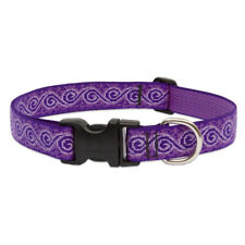 "Lupine 96952 Originals Adjustable Collar for Medium Dogs, Jelly Roll, 1""x12-20"""