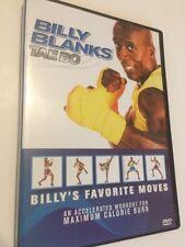 Billy Blanks Tae Bo - Billy's Favorite Moves (DVD, 2006).  Ships Free!!!