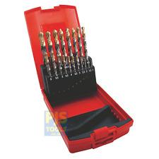 Dormer A095 A002 201 19pc 1-10mm X 0.5 HSS tin coat drill set hard plastic box