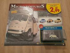 Légendaires micro-voitures d'antan n°1 Velam Isetta 1957 1/43 - Altaya (Neuf)