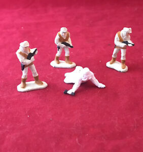Micro Machines Metal Star Wars Figures Includes Storm Trooper And 3 Hoth Soilder