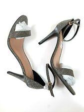 SIZE 13 METALLIC TALL Women's High-Clere High Heel Open-Toe MarthaEveryday Shoes