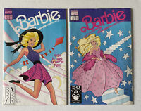 Lot of 2 Barbie Comics # 4 & 5 Marvel Comics 1992