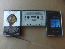 Pink Floyd - Relics - The Wall- Delicate Sound Of Thunder-  Music Cassette Tape