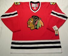 CHICAGO BLACKHAWKS size Medium 1999 to 2007 CCM 550 VINTAGE series Hockey Jersey