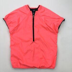 MAAJI Women's Enchanted Spirit Blush Bloom Running Reversible Jacket Sz M