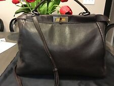 Fendi Peekaboo, Large, Leather-Lined, Excellent Condition