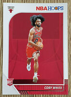 2019-20 NBA Hoops Coby White Rookie RC #204 Chicago Bulls