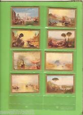#D5. EIGHT 1929 ART GALLERY PICTURES CIG. CARDS 23, 11, 24, 4, 18, 3, 14 & 2