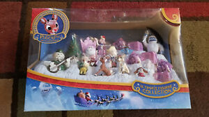 2015 Rudolph The Red Nosed Reindeer 15 Piece Ultimate Figurine Collection NIB!