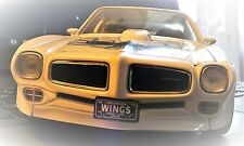 1/18 PONTIAC TRANS AM/WHITE WITH THE 455 BY ERTL