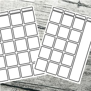 Month at a glance two page journal calendar, Bullet journal calendar Blank #1015