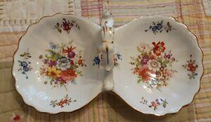 Vintage Hammersley Bone China Victorian WILD FLOWERS  Mint Dish Tray England