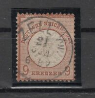 X4541/ GERMANY REICH – MI # 27 USED – CV 530 $