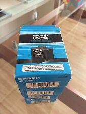 Original Sharp Druckerpatrone - 1 x Schwarz  UX-C70B