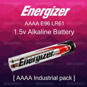 Genuine Energizer AAAA E96 LR61 1.5V Mn2500 25A Alkaline Industrial AAAA Battery