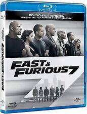 Fast & Furious 7 [Blu-ray] NUEVA SIN ABRIR!!!!