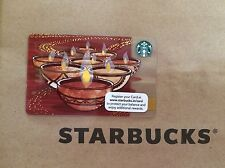 2015 India New and Rare Starbucks card Diwali #2