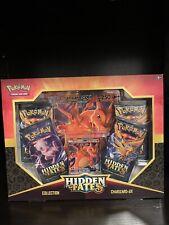 Rare Pokemon Hidden Fates - Charizard Gx Collection Box - Factory Sealed