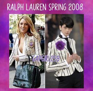Ralph Lauren Collection Peplum Blazer 6 ASO Gossip Girl Serena Van Der Woodsen