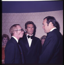 Clint Eastwood rare candid in tuxedo at praty circa 1960's original transparency