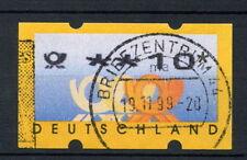 Allemagne 1999 étiquette de machine utilisé 10pf #A 28752