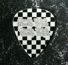 Cheap Trick / Tom Petersson Tour Guitar Pick / Black/White/Silver Checkered