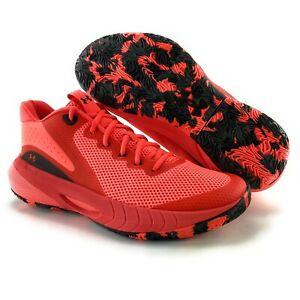 Under Armour Women's HOVR Breakthru Beta Red Black Basketball Shoes Sizes 7 - 11