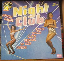 NIGHT CLUB SPECIAL DANSE COFFRET 3 LP's SEXY CHEESECAKE FRENCH PRESS