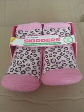 Skidders SKIDPROOF Shoes Girls Pink Toddler Slippers Size 8 (24 months)