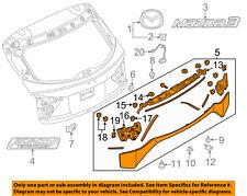 MAZDA OEM 14-15 3 Liftgate Tailgate Hatch-Molding Assembly BHP150810B27